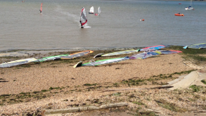 Windsurfing in Essex