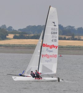 GBR415 - Team Dinghy Rope ECPR 2014