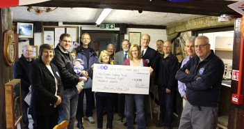 East Coast Piers Race 2014 Cheque Presentation