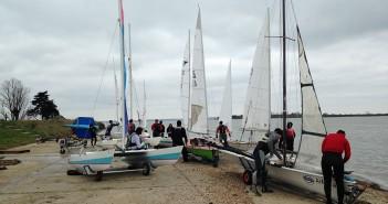 Sailing at Marconi Sailing Club