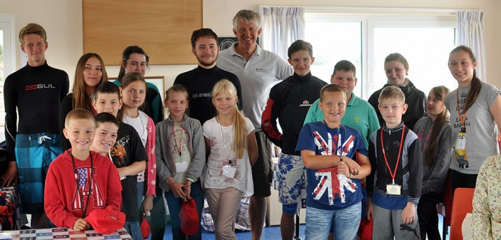 Chernobyl Children Visit Marconi Sailing Club