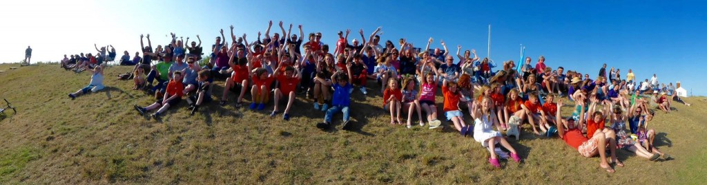 Marconi Mexican wave at the 2015 Cadet Week