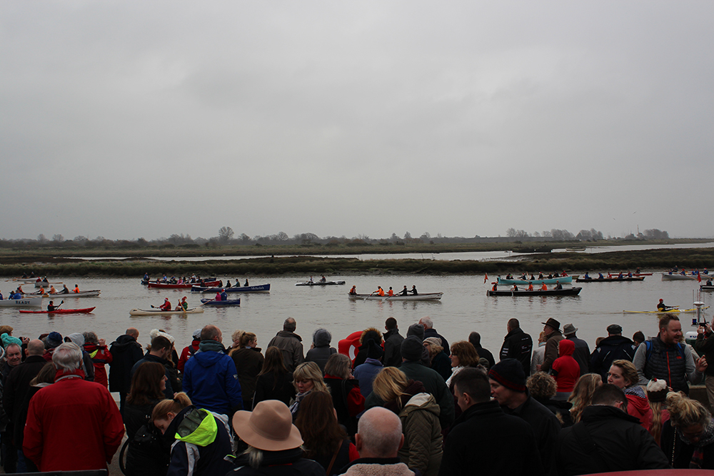 Maldon RNLI rowing race