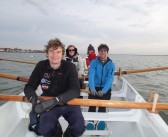 Marconi take part in the Burnham Gig Race