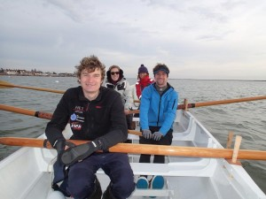 Marconi Sailing Club Rowing Gig