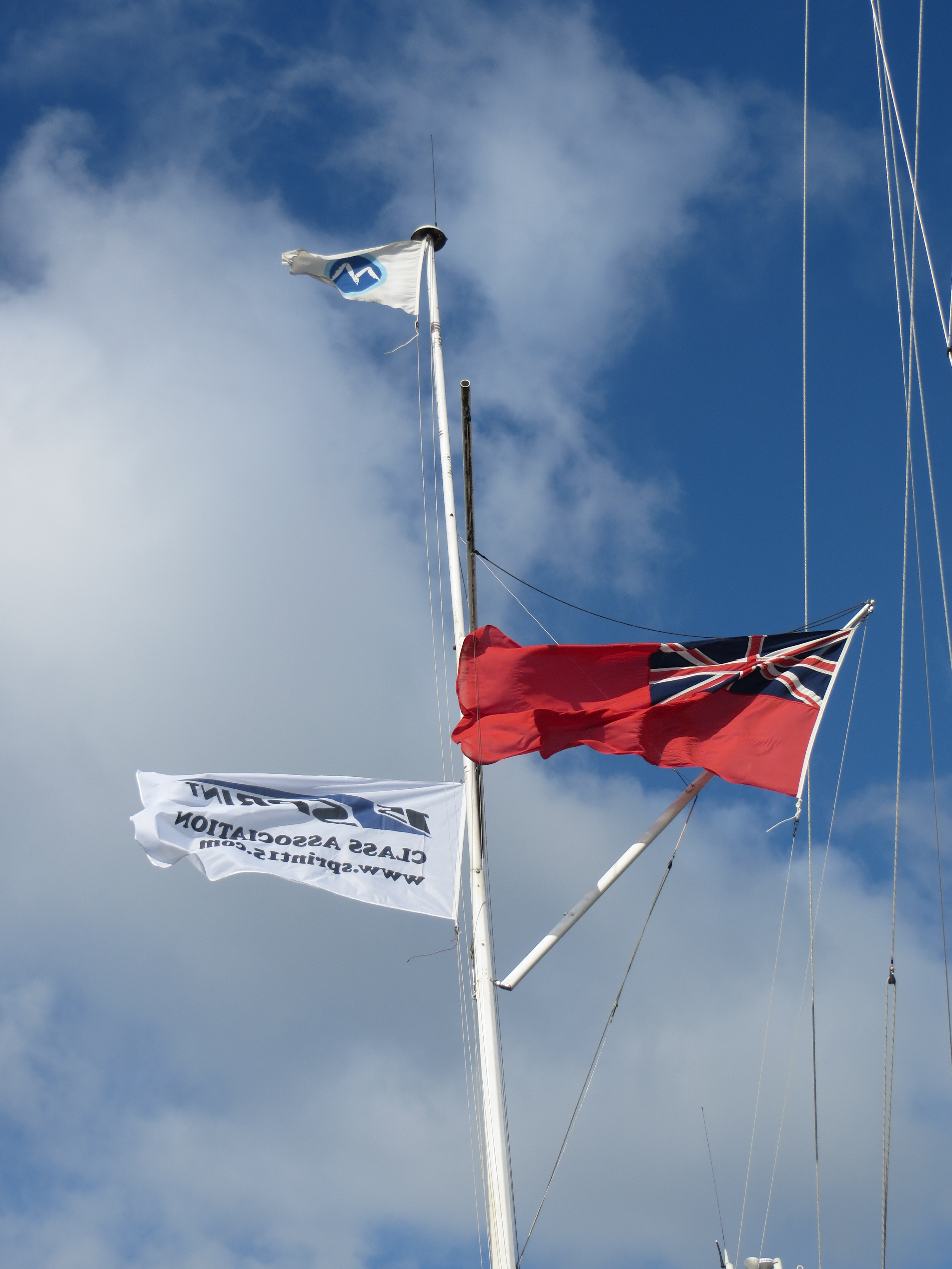 Flag at Marconi TT