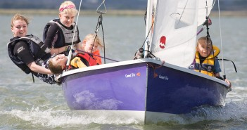 Sailing at Marconi Sailing Club