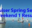 Spring Series Weekend 1 Results