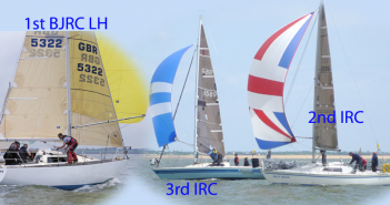 McGregor wins Brown Cup. Blue Moon & Monkey Business 2nd & 3rd in thrilling IRC race.