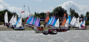 All lined up for the Cadet Week Long Distance Race! Marconi Sailing Club Photo Competition. August winner of the People at play category. Credit: Jenny Ball / Marconi Sailing Club