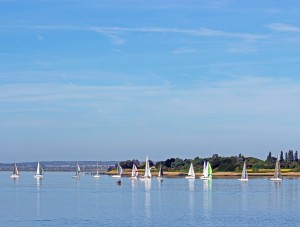 BJRC Krohn Cup race start off Osea. © Chris Kirby / MSC