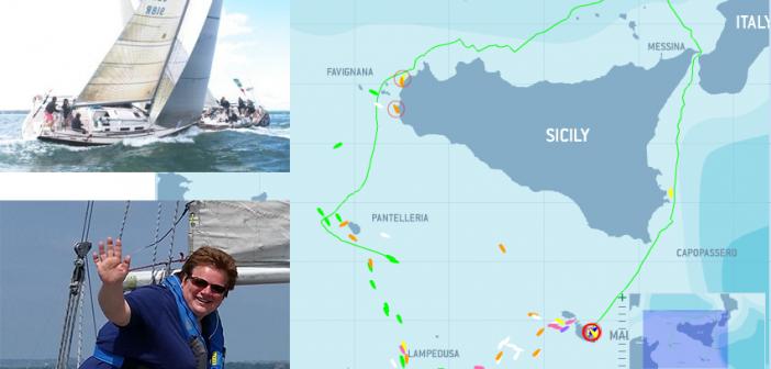 Marconi Members Middle Sea Race