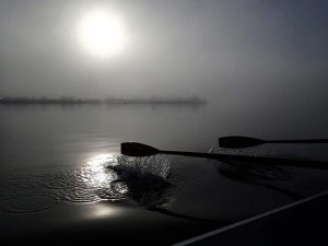 """Oars in the morning mist"" by Gig Coxswain Tom Clayton"