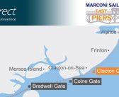 Watch the East Coast Piers Race GPS Tracking