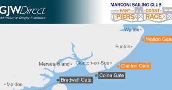 East Coast Piers Race GPS Tracking sponsored by GJW Direct Insurance
