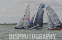18ft Skiffs at Marconi Sailing Club in Essex