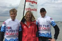 Saskia Clarke Olympic Gold Medalist visits Marconi Sailing Club