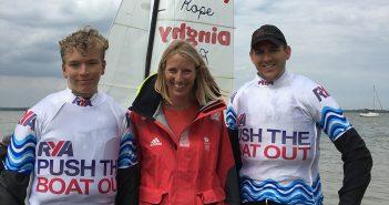 Saskia Clarke Olympic Gold Medalist visits Marconi Sailing Club