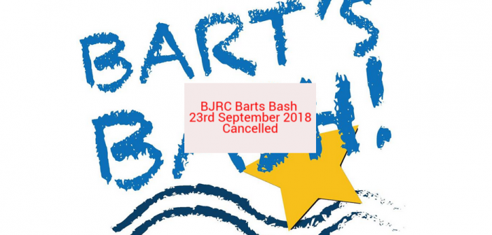 Barts Bash Cancelled