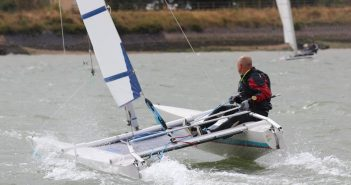 Andy Perks - Sprint 15 Sailing at Marconi Sailing Club