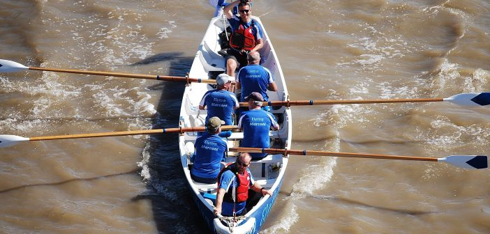 Elettra rows The Great River Race
