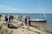Socially Distanced Lunch Stop On Osea Island