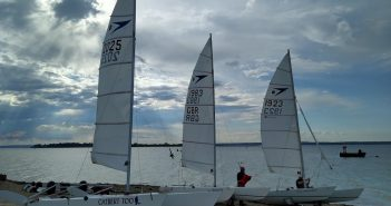 Social Distance Sailing – Sprint 15 Marconi Style!
