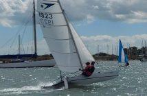 Marconi Sailing Club Cadet Regatta Winner 2020 Sprint 15 sailing