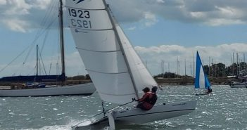 Marconi Sailing Club Cadet Regatta Winner 2020 Sprint 15 sailing