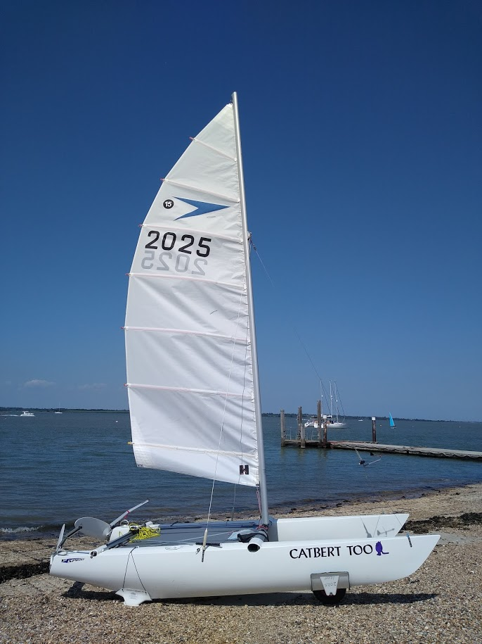 Sprint 15 First Summer Sail