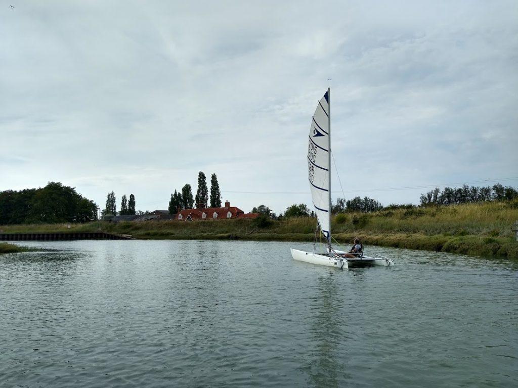 Nigel Sprint 15 sailing at The Old Ship Ahoy