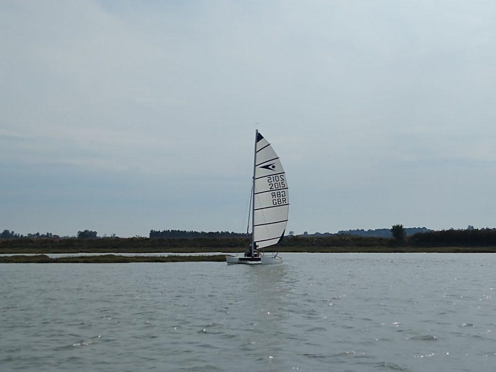 Turn around time in Salcott creek - Sprint 15 sailing
