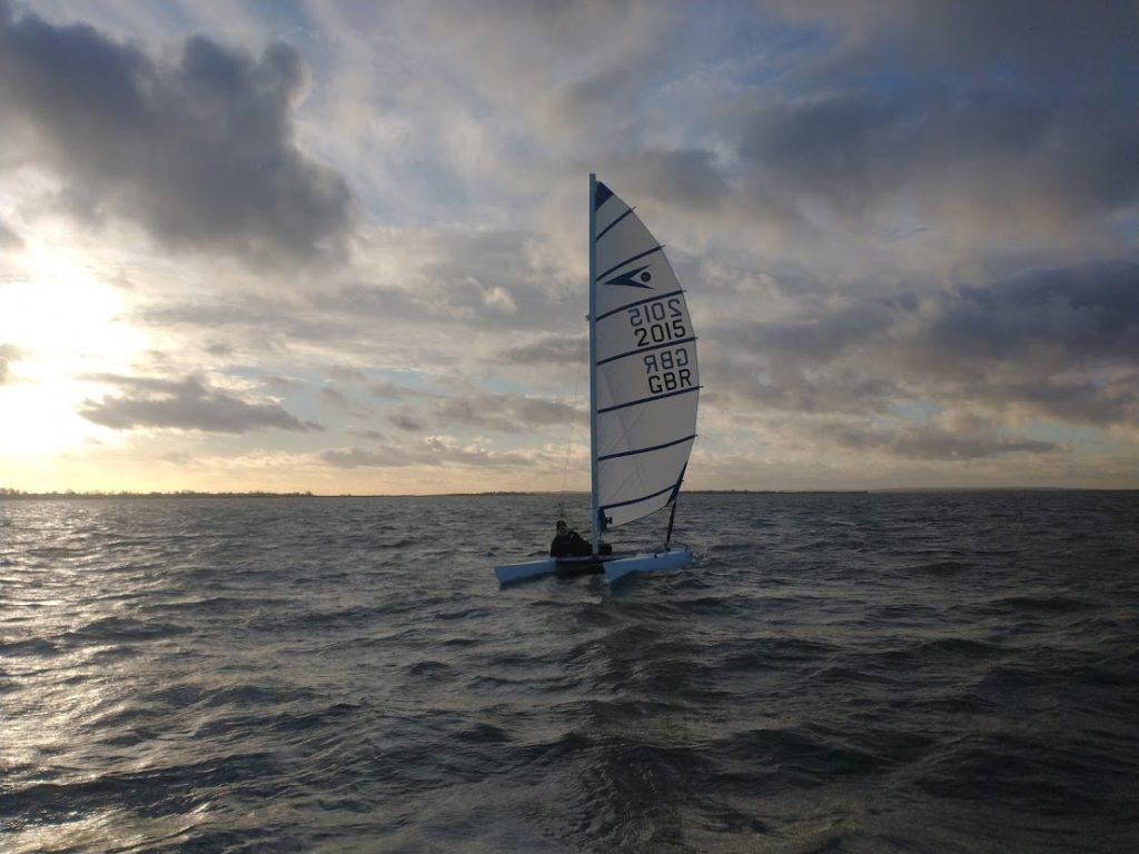 Nigel Sprint 15 sailing on the River Blackwater