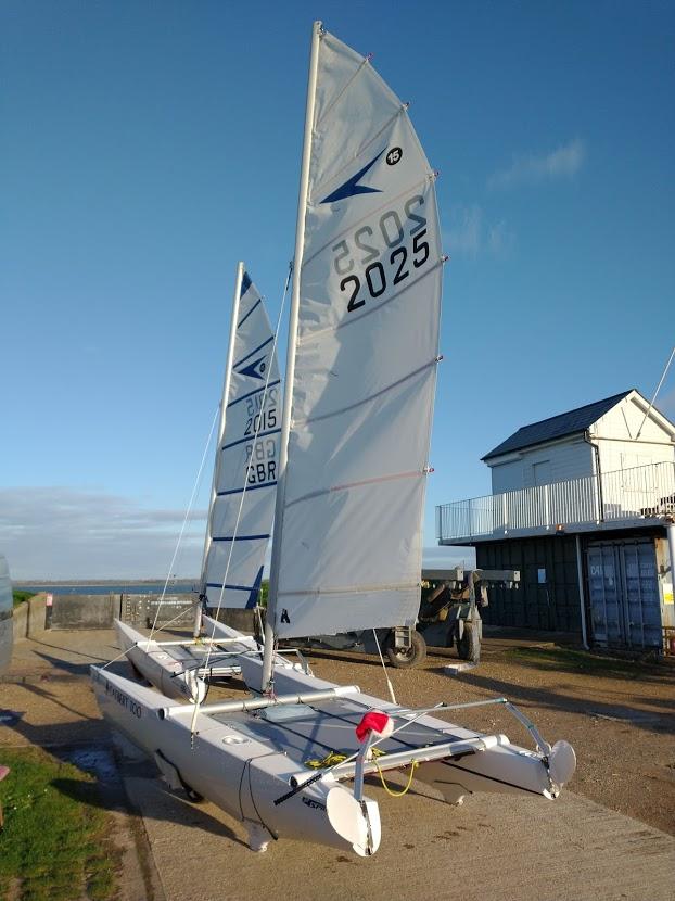 Christmas Day Sail at Marconi Sailing Club on the River Blackwater