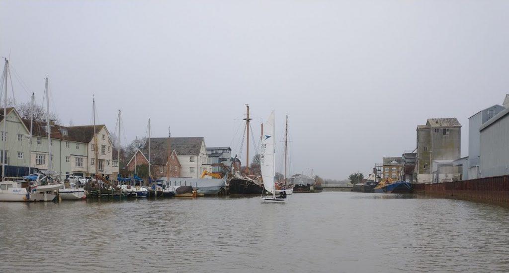 Nigel Sprint 15 sailing at Fullbridge