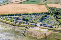 Club Site and Camping at Marconi Sailing Club in Essex