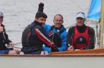 Lee Garton Learning to Sail at Cadet Week