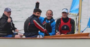 Lee Garton Learning to Sail at Cadet Week