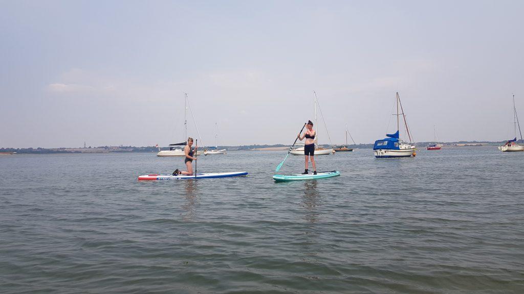 Paddle boarding at Marconi Sailing Club