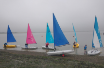 Helm of the year at Marconi Sailing Club sailing Laser Picos